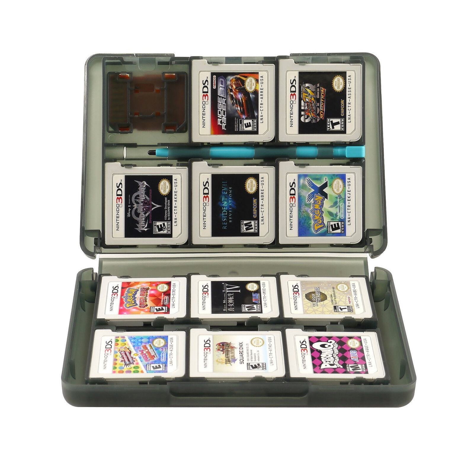 For Nintendo 3DS 3DS XL 28 in 1 Game SD Card Case Holder ...