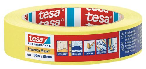 tesa® Masking Tape Precision Mask Indoor for Painting and Decorating