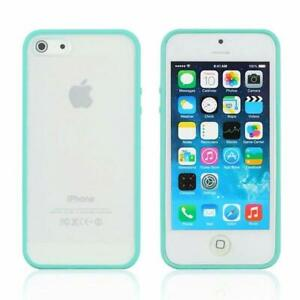 iPhone-6S-Plus-6-Plus-case-Bumper-Case-Cover-Protective-Frosted-Hard-Turquoise