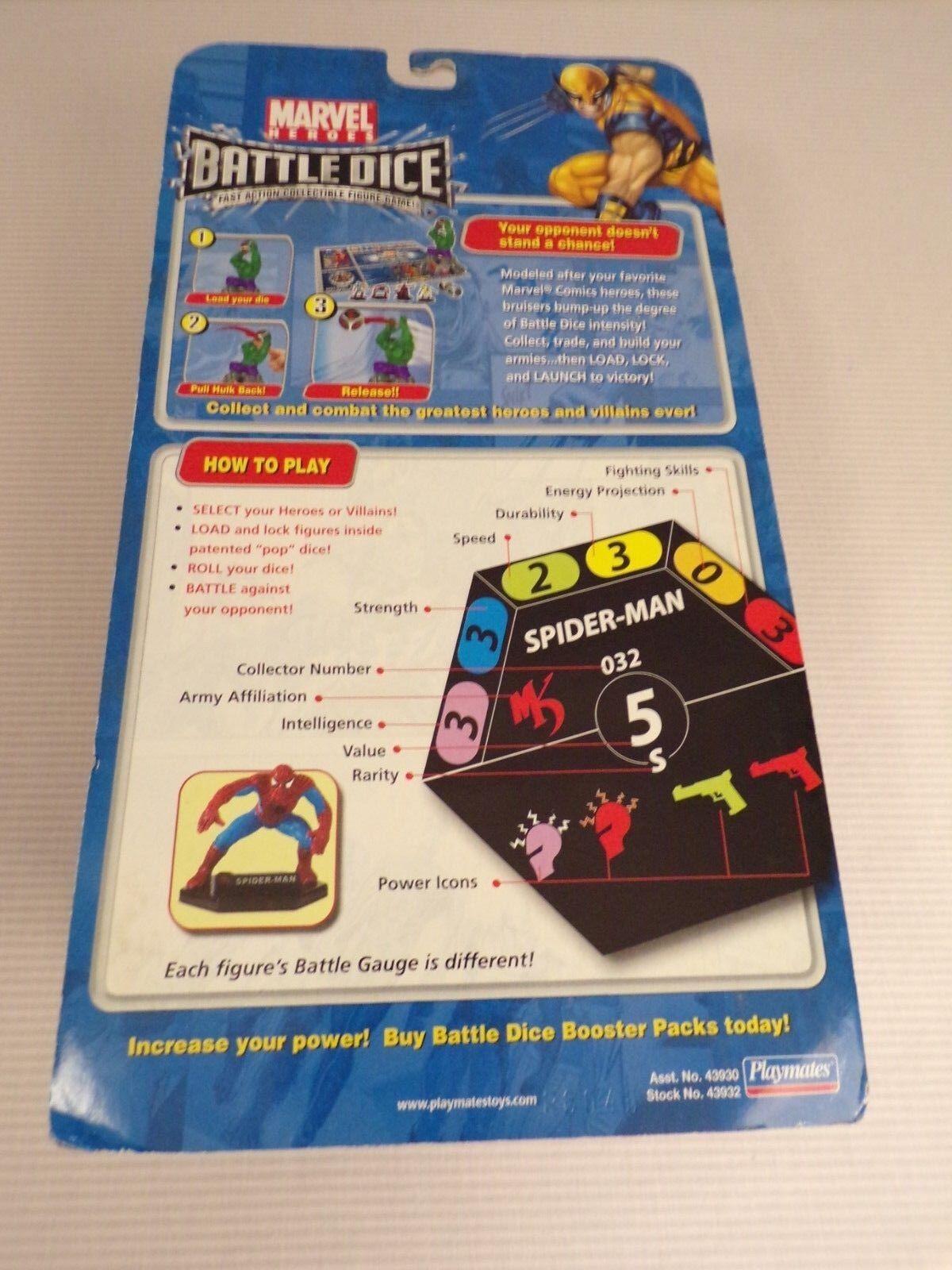 MARVEL MARVEL MARVEL HULK BATTLE Dice Launcher Playmates 9a7341