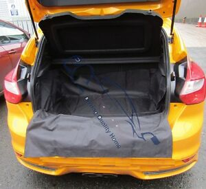 Black Heavy Duty Boot Cover Protector For Peugeot 307 SW Estate 2002-2007