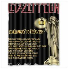 Gift Led Zeppelin Stairway Shower Curtain 60 X 72 Inch 1 Side 12 Holes