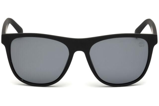 905c396009be NWT TIMBERLAND Sunglasses TB 9124 05H Polarized Black / Smoke 56 mm TB9124  NIB