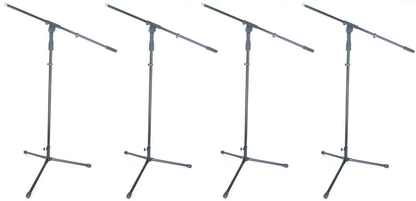 4 x Microphone Stand Mic Tripod ADM S22B mirkofonstativ with Gallows/Swing Arm