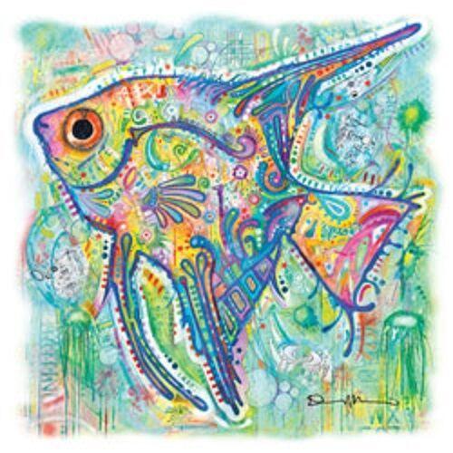 Glitter   Tshirt Sizes//Colors Angel Fish