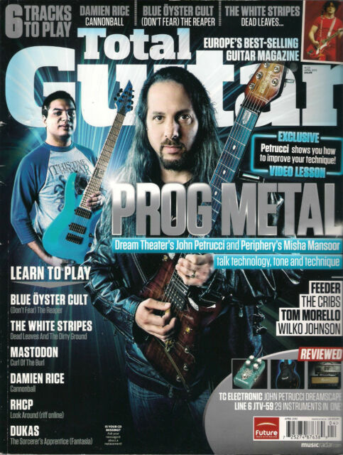 TOTAL GUITAR UK 226 April 2012 Learn to Play Dukas Mastodon White Stripes TAB