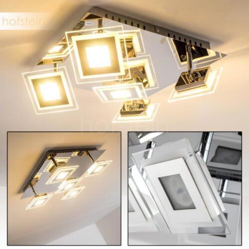 LED eckige Design Deckenleuchte Cerreto Wohn Schlaf Zimmer Lampe Raum Flur Diele