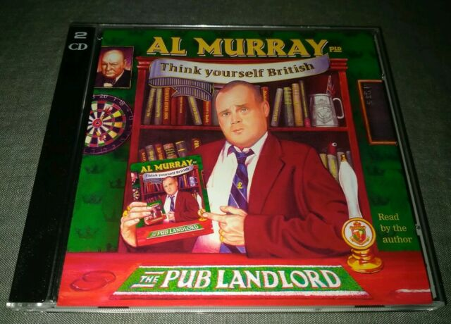 2 CD. THINK YOURSELF BRITISH. Al Murray THE PUB LANDLORD