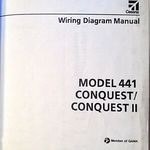 image is loading cessna-conquest-and-conquest-ii-model-441-wiring-