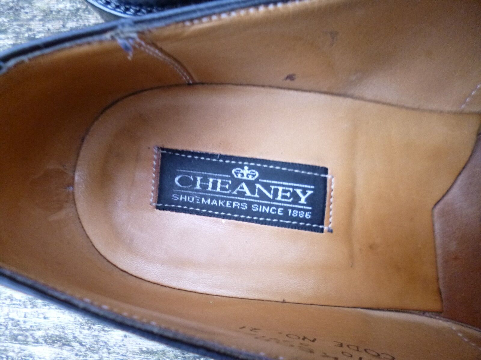 CHEANEY / CHURCH -  LOAFERS – BLACK - CHURCH UK 6 – JACKSON - EXCELLENT  CONDITION c7b26f