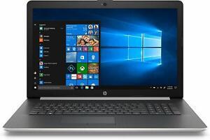 "HP 17 17.3"" LED Quad Core i5 3.9GHz 1TB 8GB Bluetooth DVDRW Laptop Silver"