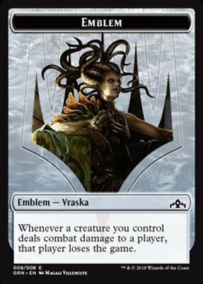 NM Card Vraska/'s Stoneglare MTG Guilds of Ravnica