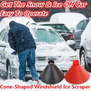 Tools Garden Tools United Outdoor Ice Shovel Cone Shaped Funnel Snow Remover Clean Tool Scrape Ice Scraper Useful Car Windshield Snow Removal Magic