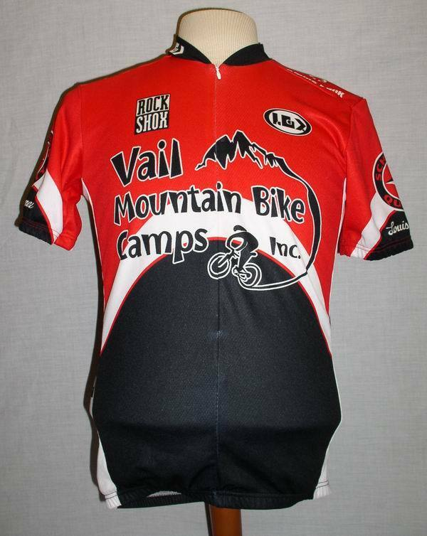 RARE LOUIS  GARNEAU CYCLING VAIL MOUNTAIN COLORADO LIMITED EDITION JERSEY MENS M  the best after-sale service