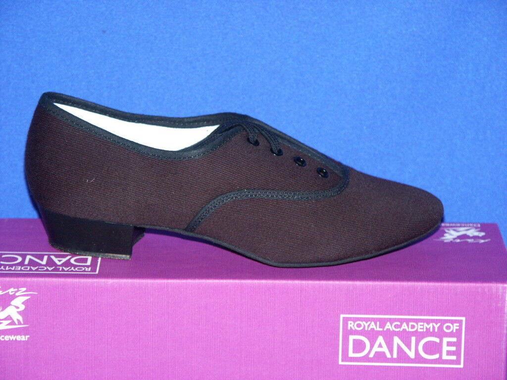 Katz Boys RAD Black Canvas Syllabus Character Ballroom Shoe