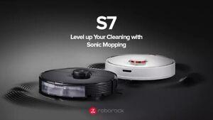 roborock s7 2021 robot aspirapolvere lava pavimento con vibrazione comp.alexa