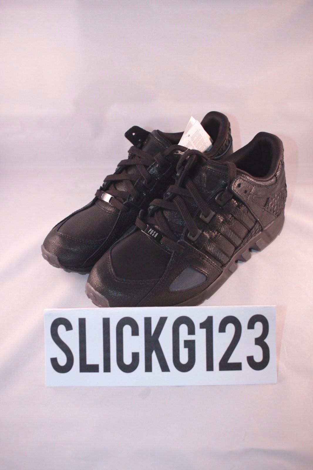 Adidas EQT Equipment Running Guidance 93 Pusha T Black Market Size 9 DS Brand Ne