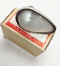 Military Aircraft Type A-8 Position Light Frosted Clear CM Hall Lamp Boxed