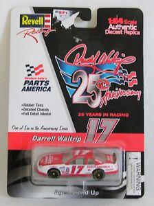 NASCAR Revell Darrell Waltrip 25th Anniv 1:64 Red White Diecast 1997