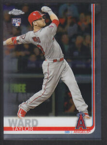 Topps-Chrome-2019-78-Taylor-Ward-Los-Angeles-Angels-RC