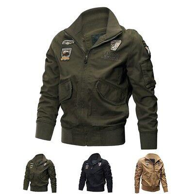 Men's MA 1 Army Jacket Combat Jacket Coats Cool Stylish Winter Military Jackets   eBay