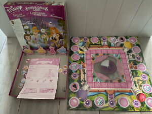DISNEY-DISNEY-PRINCESS-SPINNING-WISHES-GAME-100-COMPLETE-FREE-DELIVERY