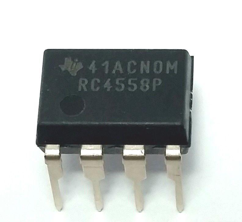 RC4558P TEXAS INSTRUMENTS IC OPAMP GP 3MHZ 8 PIN DIP