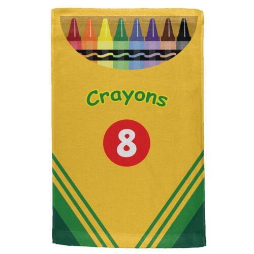 Fun Crayon Box All Over Hand Towel