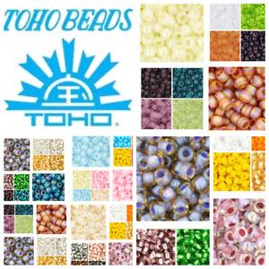 8-0-TOHO-Japan-Glass-Seed-Beads-Round-SIZE-8-Spacer-8g-one-tube-300pcs-beads