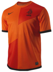a1c2cfbbf40 Nike Dri Fit Netherlands National Team Stadium Home Jersey soccer ...