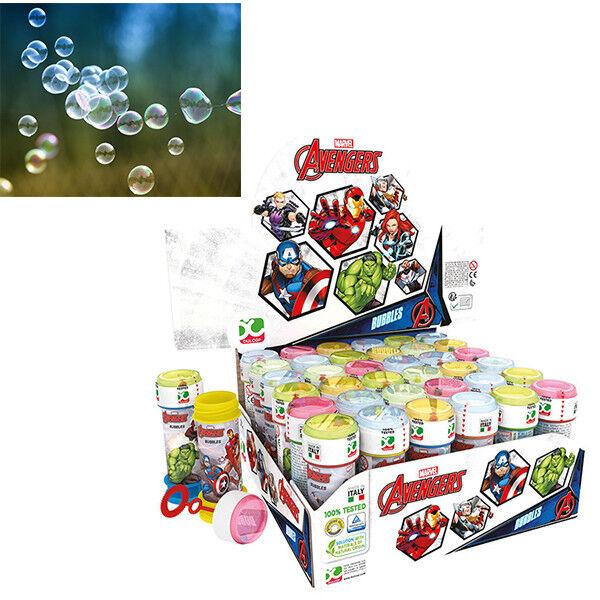 Luftblasen Seife Avengers 18 Flaschen Kinder Spiel Kork Fest Geschenkidee 773 | Berühmter Laden  | Nutzen Sie Materialien voll aus