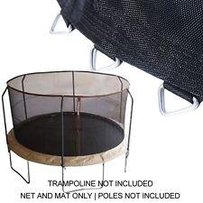 """14ft Trampoline Net & Mat (150"""" /72 Rings) for BouncePro/SportsPower TR-1686-TPR"""