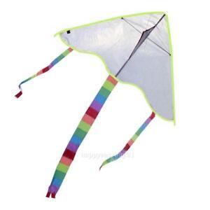 Diy-Kite-Painting-Kite-Outdoor-Toys-Kite-Flying-Random-Color