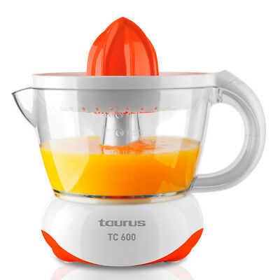 Exprimidor Electrico de Zumo Naranjas Taurus TC-600 - 40W - 0,7 Litros