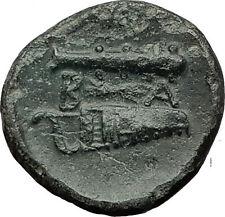 ALEXANDER III the GREAT 323BC Hercules Club Macedonia Ancient Greek Coin i59379