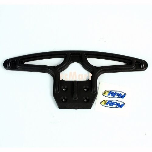 RPM Wide Front Bumper Black For Team Associated GT2 B4 T4 1:10 Off Road #80042