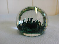 1980s  Selkirk Glass  Paperweight