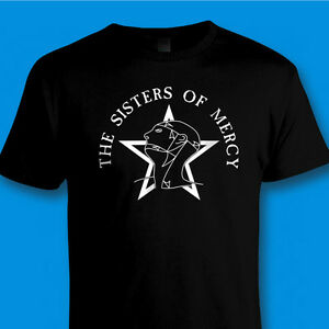 SISTERS-OF-MERCY-80s-Retro-Rock-Music-T-SHIRT-WORLD-039-S-END-SIMON-PEGG-to-5XL