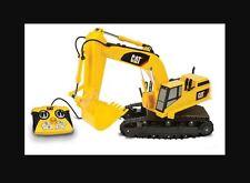 "CAT Caterpillar Light and Sound 15"" Remote Control RC Toy Excavator Dig Machine"