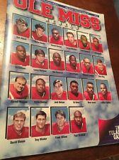 1995 OLE MISS VS TULANE Program Vaught-Hemingway Stadium Oxford Mississippi
