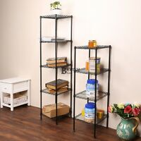 Heavy Duty Shelf Storage Metal Garage Kitchen Rack Wire Unit Closet