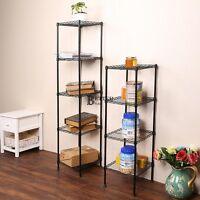 Heavy Duty Shelf Storage Metal Garage Kitchen Rack Wire Unit Closet