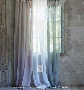 Tenda lunga Blanc Collection Blanc Mariclo 150 x 290 cm 100% lino | eBay