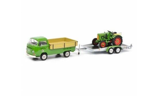 450334200 - Schuco VW t2 pick-up Fendt Service (03342) - 1 43