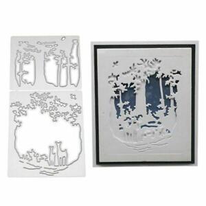 Deer-Metal-Cutting-Dies-Stencil-Scrapbooking-Embossing-DIY-Paper-Cards-Crafts