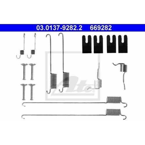 1 Zubehörsatz Bremsbacken ATE 03.0137-9282.2 passend für LAND ROVER