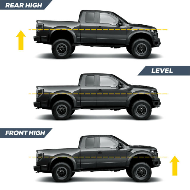 LSAILON Leveling Lift Kit fit for F150 3-3 in Front Leveling Lift Kit Compatible with 2004-2014 for Ford F150