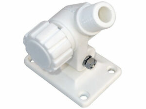 DUAL AXIS KNOB RATCHET VHF ANTENNA PLASTIC BASE MOUNT FOR BOATS - FIVE OCEANS