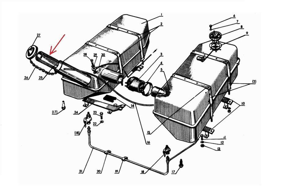 Buy Belarus Tractor Fuel Tank Filter Screen Online