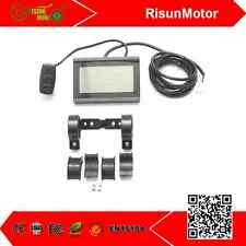 24V 36V 48V ebike Intelligent LCD3 Control Panel Display For Ebike